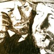 Vincent And Douglas Art Print