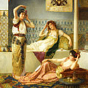 Vincent Stiepevich In The Harem Art Print
