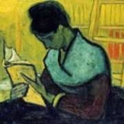 Vincent Van Gogh  A Novel Reader Art Print