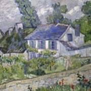 Vincent Van Gogh, Houses At Auvers Art Print