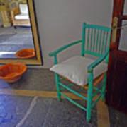 Vincent's Chair Art Print