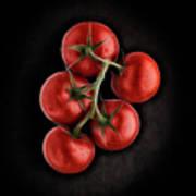 Vine Ripened Tomatoes. Art Print