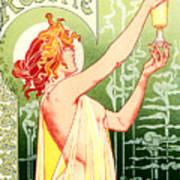 Vintage Absinthe Robette Poster Art Print