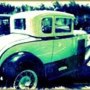 Vintage Automobile Art Print