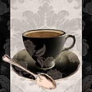 Vintage Cafe IIi Art Print