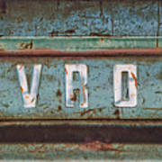Vintage Chevrolet Tailgate Art Print