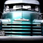 Vintage Chevy 3100 Pickup Truck Art Print by Steven  Digman