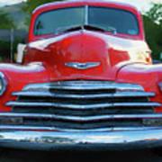 Vintage Chevy Pickup Truck Art Print