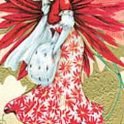 Vintage Christmas Wishes Art Print
