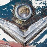 Vintage Chrysler Emblem Art Print