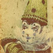 Vintage Circus Postcard Art Print