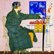 Vintage Clothing Advertisement 1910 Art Print