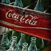 Vintage Coca Cola 1 Art Print