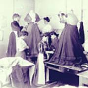 Vintage Dressmakers Art Print
