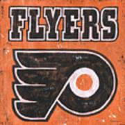 Vintage Flyers Sign Art Print