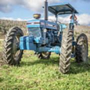 Vintage Ford 7610 Farm Tractor Art Print