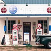 Vintage Gas Station Art Print