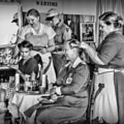 Vintage Hair Dresser Art Print