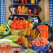Vintage Harvest Art Print