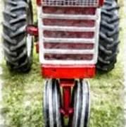 Vintage International Harvester Tractor Art Print