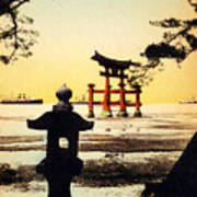 Vintage Japanese Art 23 Art Print