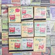 Vintage Matchbooks Art Print