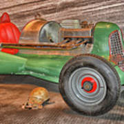 Vintage Midget Racer Art Print