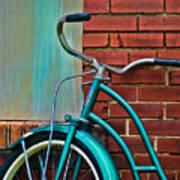 Vintage Montgomery Ward Bicycle 6 Art Print
