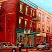 Vintage Montreal Art Print