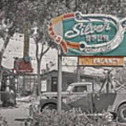 Vintage Neon Signs Art Print