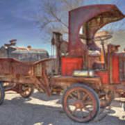 Vintage Packard Truck Art Print