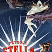 Vintage Petrole Stella Poster Art Print