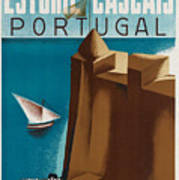 Vintage Portugal Travel Poster Art Print