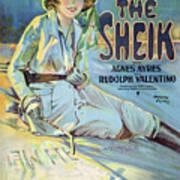 Vintage Poster - The Sheik Art Print