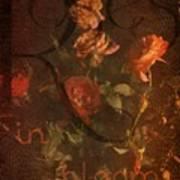 Vintage Roses Art Print