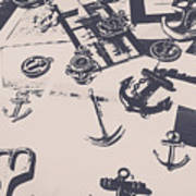 Vintage Sailing Art Art Print