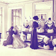 Vintage Seamstress Art Print
