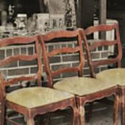 Vintage Seating Art Print