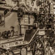 Vintage Sewing Art Print