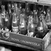 Vintage Soda Case  Art Print