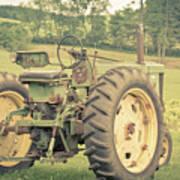 Vintage Tractor Keene New Hampshire Art Print