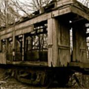 Vintage Train Art Print