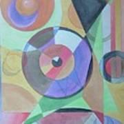 Vinyl Eye Art Print