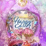 Violet Easter Art Print