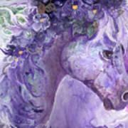 Violet Fantasy Art Print