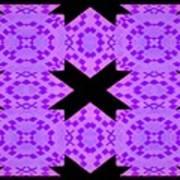 Violet Haze Abstract Art Print