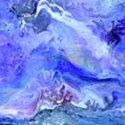 Violet Storm Art Print