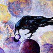 Violet-velvet Lining Art Print