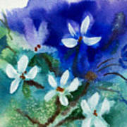 Violets 2 Art Print