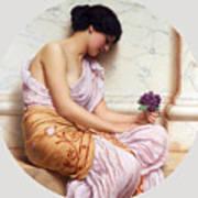 Violets Sweet Violets Art Print